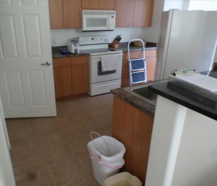 Kitchen Cleaning After Water Damage Before