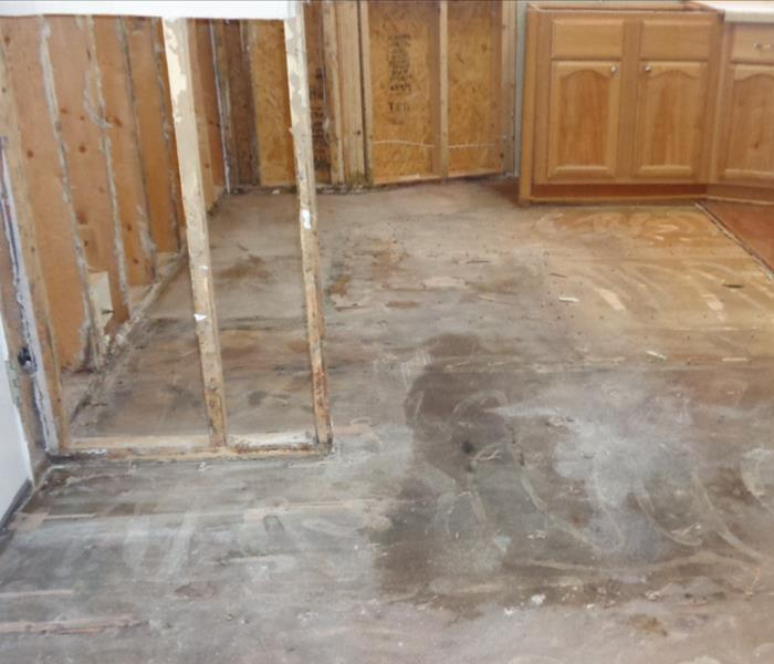 Flooring Removal And Flood Cuts
